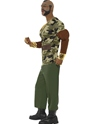 Adult Mr T Premium Camouflage Costume  - Back View - Thumbnail