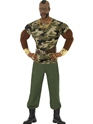 Adult Mr T Premium Camouflage Costume Thumbnail