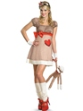 Adult Ms. Sock Monkey Costume Thumbnail