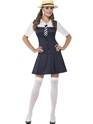 Adult Navy School Girl Costume Thumbnail