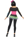 Adult Neon Skeleton Costume  - Side View - Thumbnail