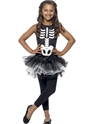 Child Skeleton Tutu Costume Thumbnail