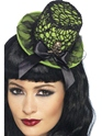Neon Top Hat on Headband  - Side View - Thumbnail