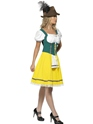Adult Oktoberfest Ladies Bavarian Costume  - Side View - Thumbnail