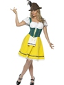 Adult Oktoberfest Ladies Bavarian Costume  - Back View - Thumbnail
