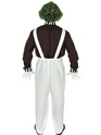 Adult Oompa Loompa Factory Worker Costume with Wig  - Side View - Thumbnail