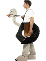 Adult Ostrich Costume  - Back View - Thumbnail