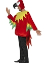 Adult Parrot Costume  - Back View - Thumbnail