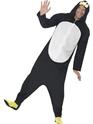 Adult Penguin Onesie Costume Thumbnail