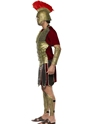Adult Perseus the Gladiator Costume  - Back View - Thumbnail