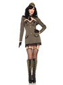 Adult Pin Up Army Girl Costume Thumbnail