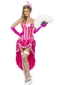 Adult Pink Burlesque Dancer Costume Thumbnail