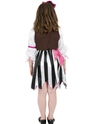 Child Pink Pirate Girl Costume  - Side View - Thumbnail
