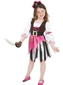 Child Pink Pirate Girl Costume Thumbnail