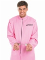 Adult Pink Prisoner Male Costume  - Back View - Thumbnail
