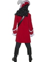 Adult Pirate Captain Costume  - Side View - Thumbnail