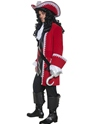 Adult Pirate Captain Costume  - Back View - Thumbnail
