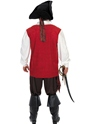 Adult Pirate Costume  - Side View - Thumbnail
