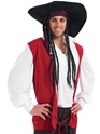 Adult Pirate Costume  - Back View - Thumbnail