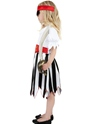 Child Pirate Girl Childrens Costume  - Side View - Thumbnail