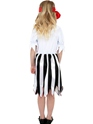 Child Pirate Girl Childrens Costume  - Back View - Thumbnail
