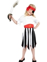 Child Pirate Girl Childrens Costume Thumbnail