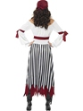 Adult Pirate Lady Dress Costume  - Side View - Thumbnail