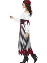 Adult Pirate Lady Dress Costume  - Back View - Thumbnail