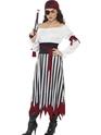 Adult Pirate Lady Dress Costume Thumbnail