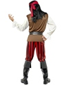 Adult Pirate Ship Mate Costume  - Side View - Thumbnail