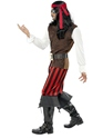 Adult Pirate Ship Mate Costume  - Back View - Thumbnail