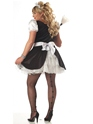 Adult Plus Size Fiona the French Maid Costume  - Back View - Thumbnail