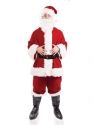 Adult Plush Santa Costume Thumbnail