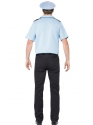 Adult Police Officer Costume  - Side View - Thumbnail