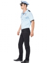 Adult Police Officer Costume  - Back View - Thumbnail