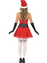 Adult Pom Pom Santa Costume  - Side View - Thumbnail