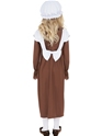Child Victorian Poor Girl Costume  - Back View - Thumbnail