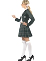 Adult Preppy Schoolgirl Costume  - Back View - Thumbnail