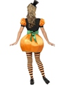 Adult Pumpkin Costume  - Back View - Thumbnail