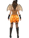 Adult Punk Victorian Bat Costume  - Side View - Thumbnail