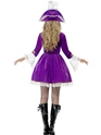 Adult Purple Pirate Beauty Costume  - Side View - Thumbnail