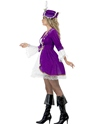 Adult Purple Pirate Beauty Costume  - Back View - Thumbnail