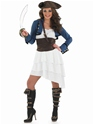 Adult Ra Ra Pirate Girl Costume Thumbnail