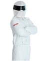 Adult Racing Driver Costume  - Back View - Thumbnail
