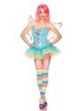 Adult Rainbow Fairy Costume Thumbnail