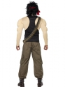 Adult Rambo Costume  - Back View - Thumbnail