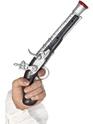 Realistic Pirate Pistol  - Back View - Thumbnail