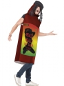Adult Really Really Hot Sauce Costume  - Back View - Thumbnail