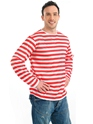 Red and White Striped Jumper Thumbnail