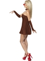 Adult Red Hot Reindeer Costume  - Back View - Thumbnail